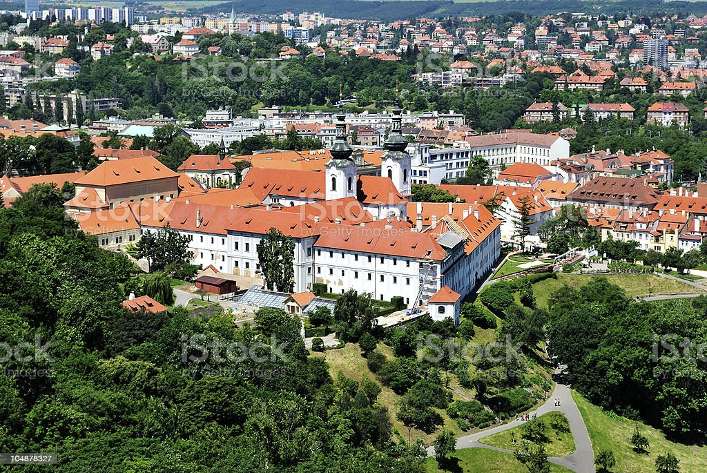Prague. Strahov Monastery stock photo