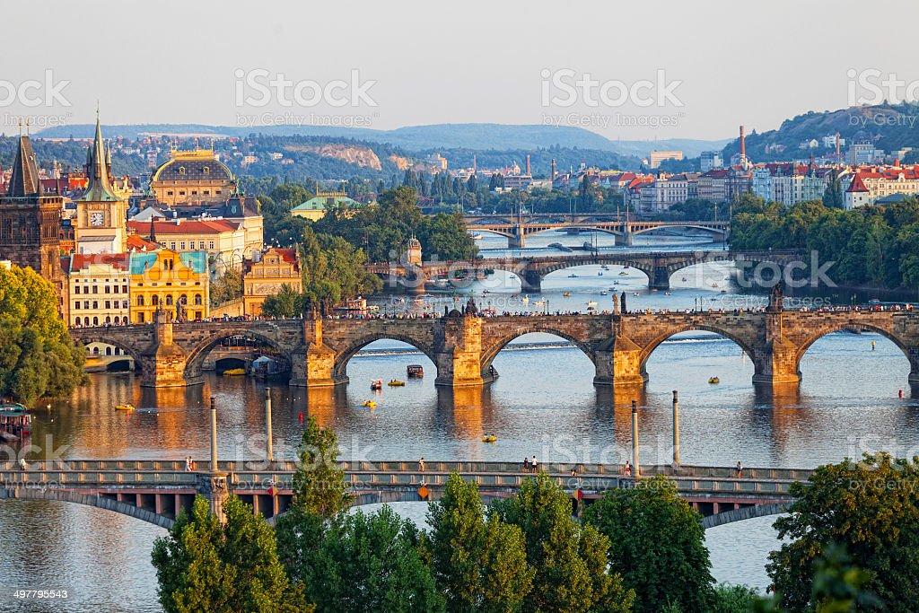Prague, the Czech Republic stock photo
