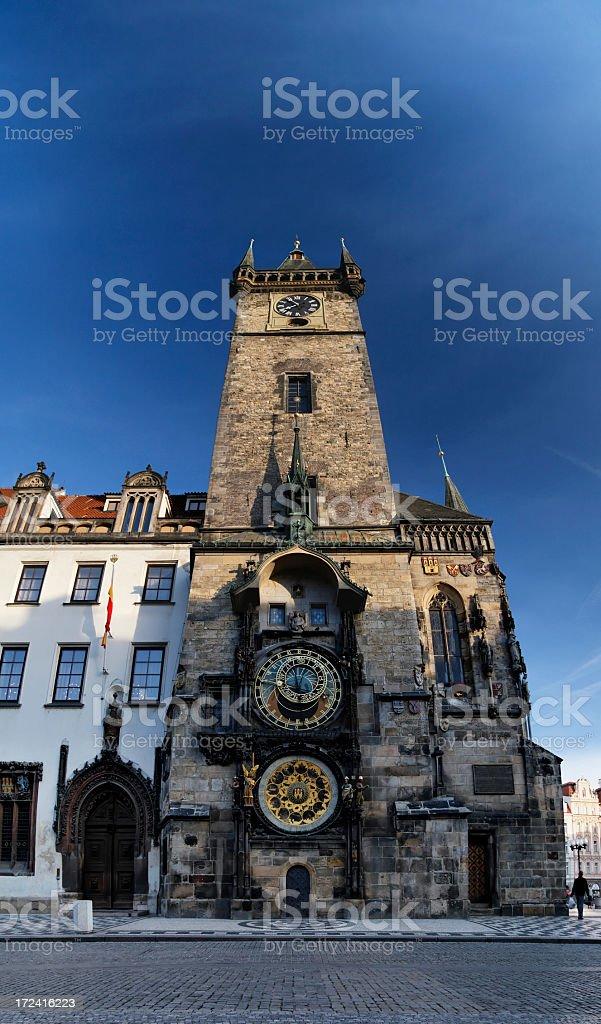 Prague Town Hall royalty-free stock photo