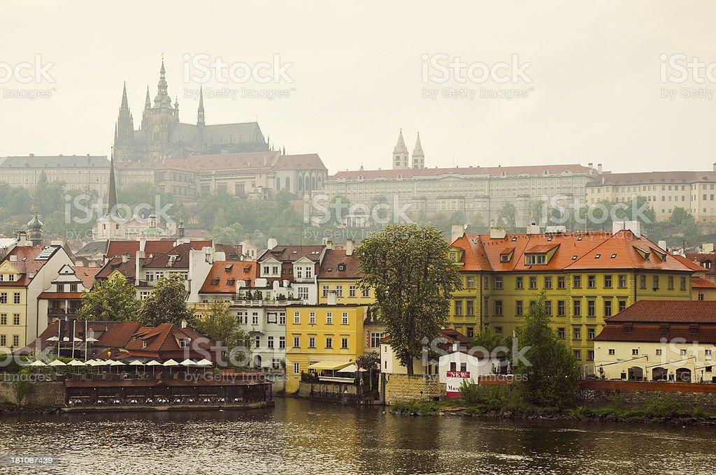 Prague town view royalty-free stock photo