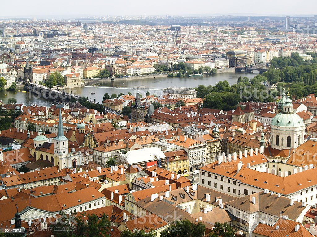 Praha - Panoramic View royalty-free stock photo