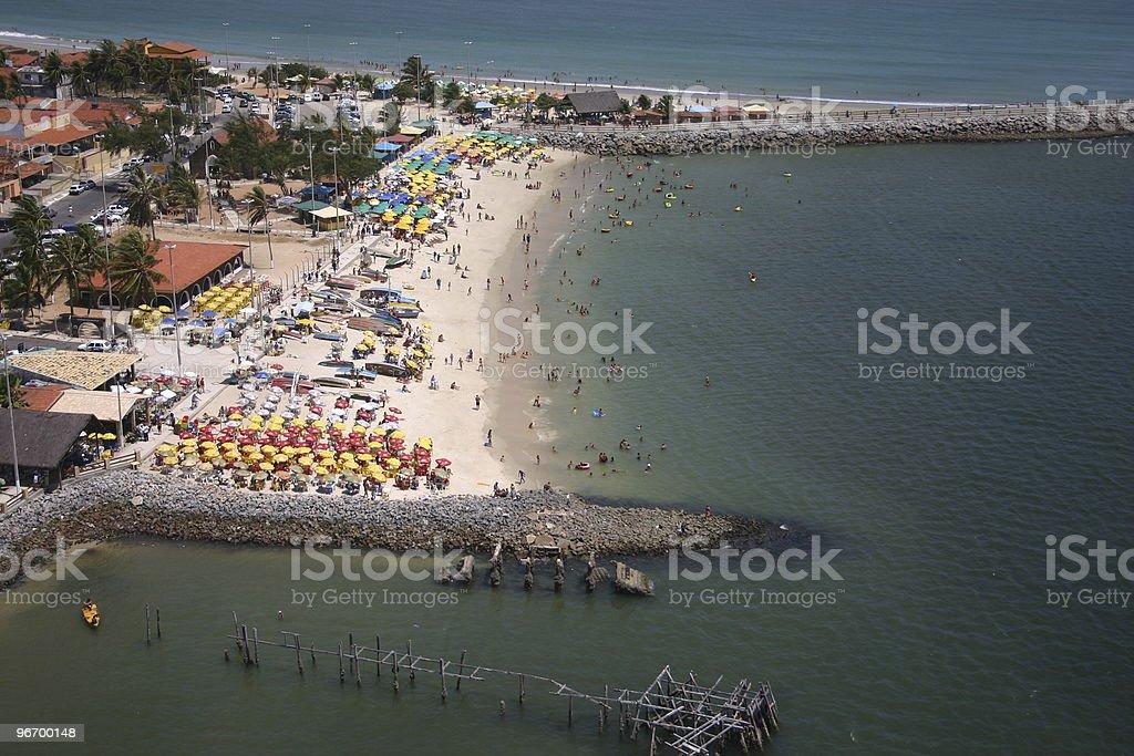 Praia da Redinha stock photo