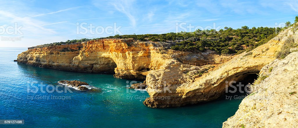 Praia da Rocha, Portimao stock photo
