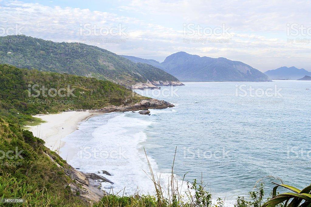 Praia do Meio royalty-free stock photo