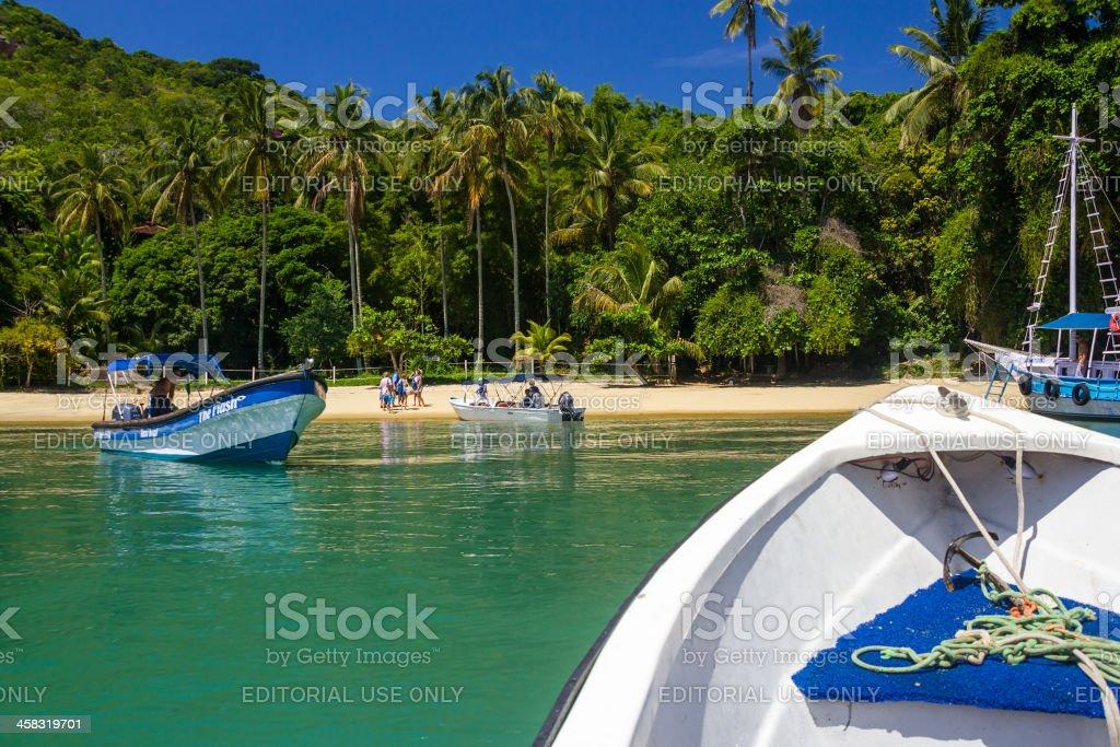 Praia do Pouso stock photo
