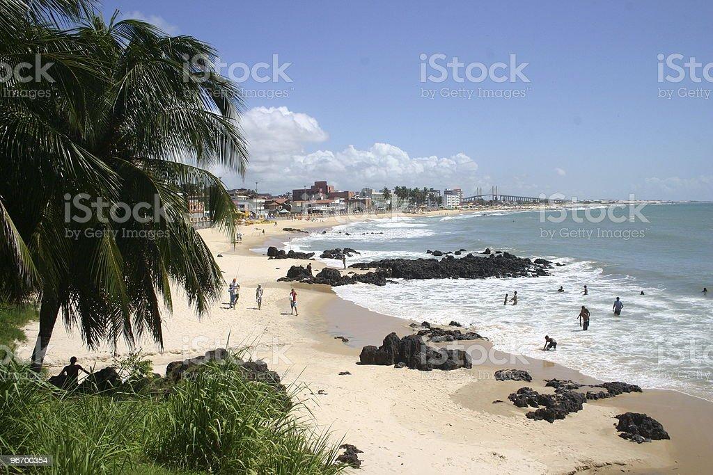 Praia Ponta do Morcego, Brasil stock photo