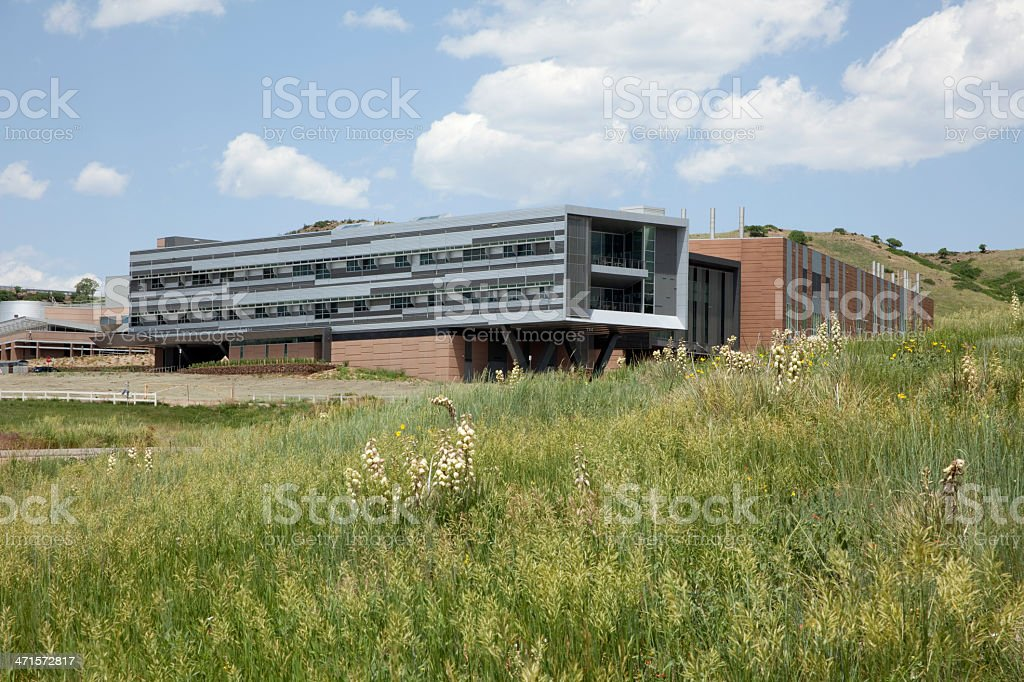 Prairie and National Renewable Energy Laboratory Colorado stock photo