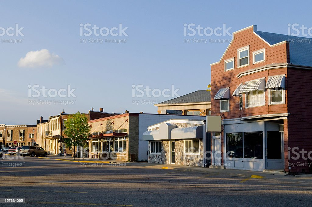 Prairie du Sac, Wisconsin stock photo