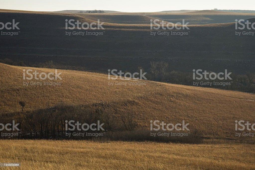 Prairie Hills royalty-free stock photo