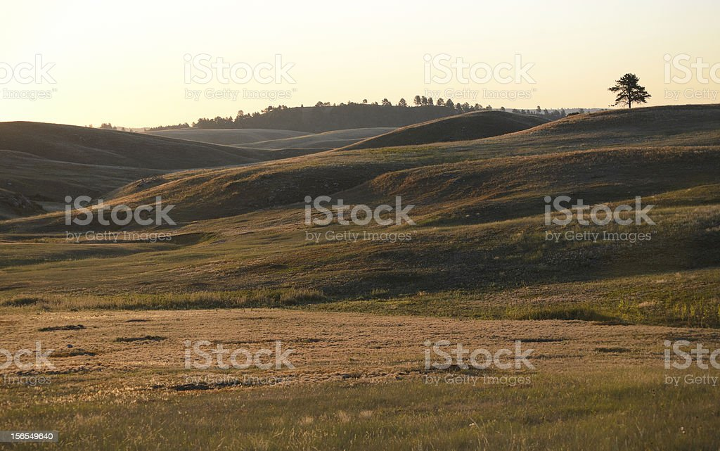 prairie hills stock photo