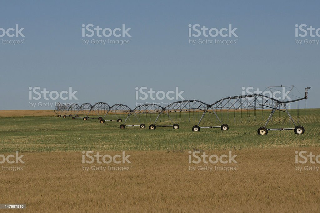 Prairie Irrigation System royalty-free stock photo