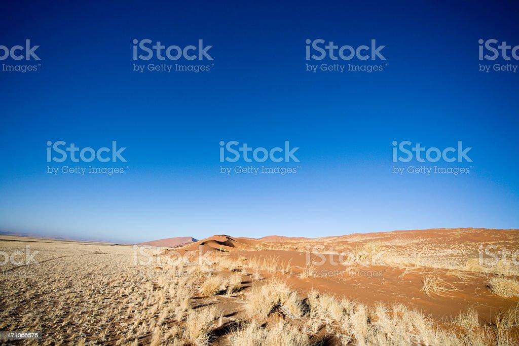 Prairie Landscape Namibia stock photo