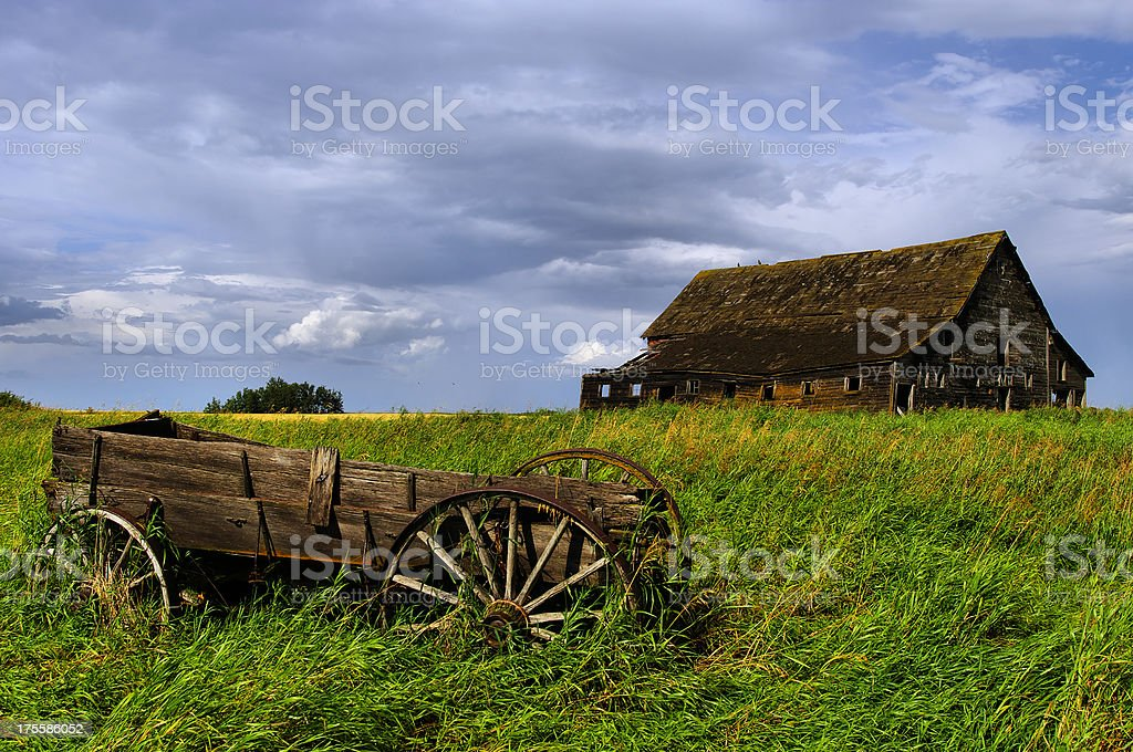 Prairie Landscape royalty-free stock photo