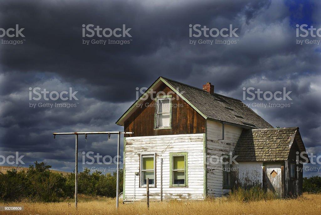 Prairie Moods royalty-free stock photo