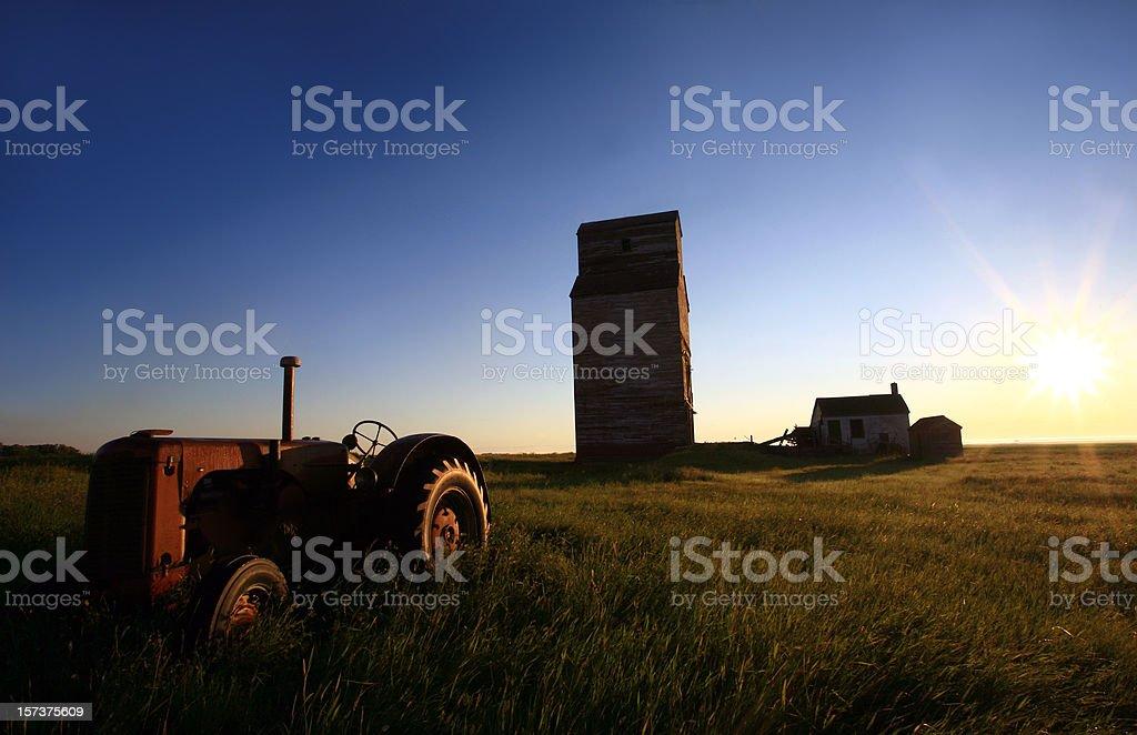 Prairie Morning royalty-free stock photo