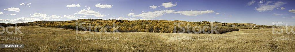 Prairie Panorama royalty-free stock photo