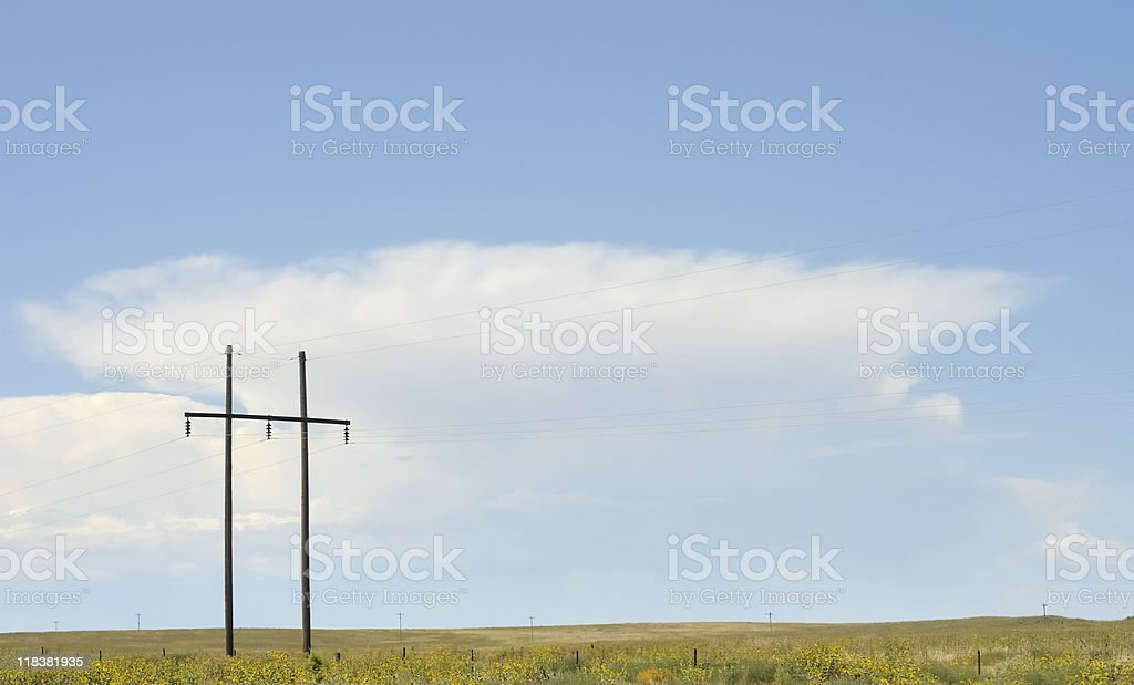 Prairie royalty-free stock photo
