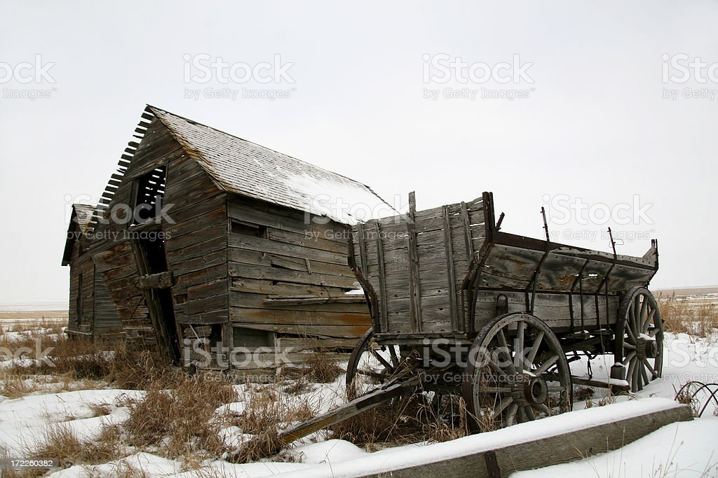 Prairie Relics stock photo