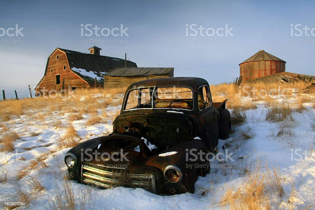 Prairie Remnants royalty-free stock photo