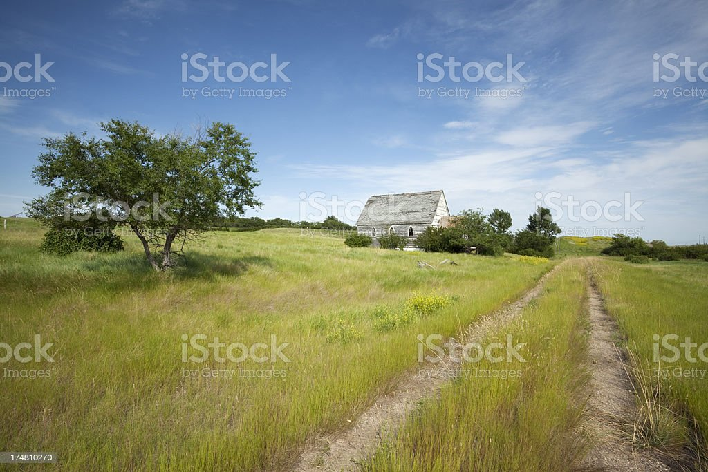 Prairie Scene royalty-free stock photo