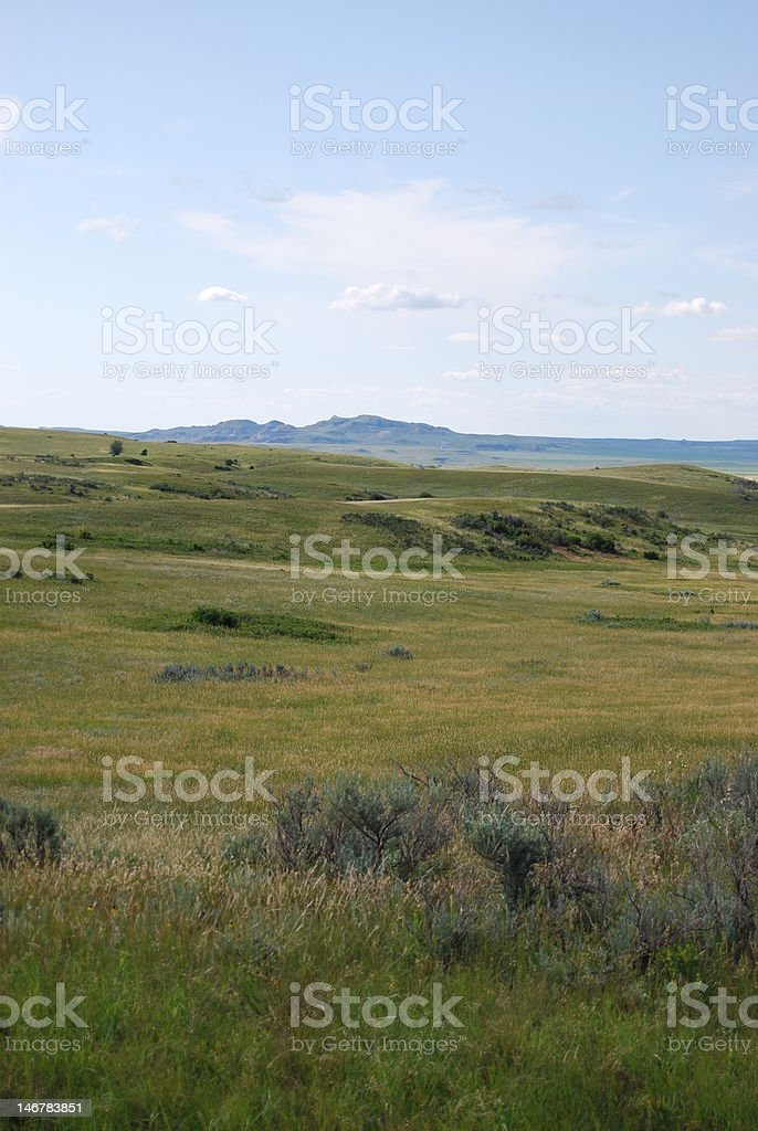 Prairie View, North Dakota royalty-free stock photo
