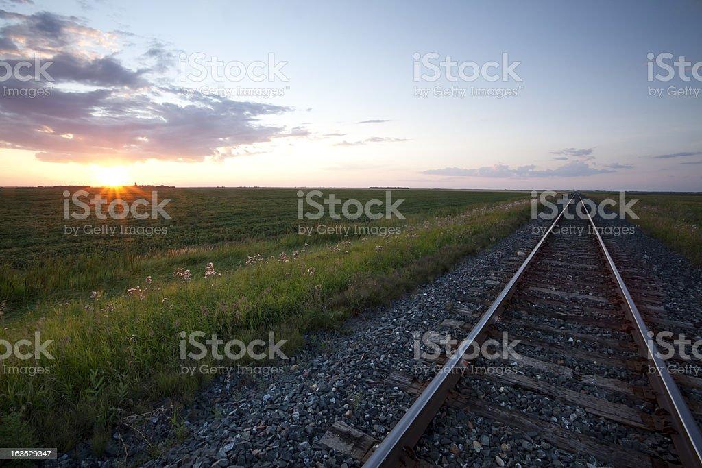 Prairie View royalty-free stock photo