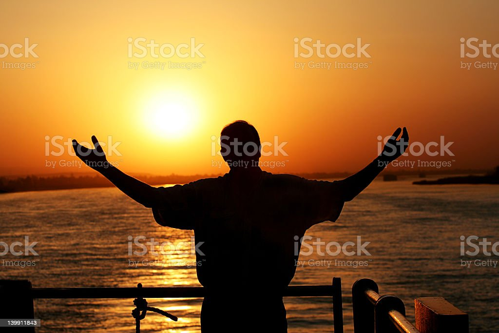 Praise Be The Nile royalty-free stock photo