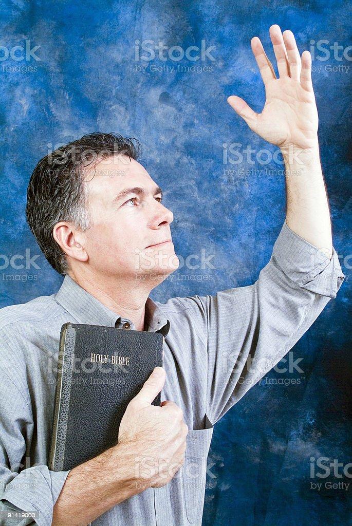 Praise God! royalty-free stock photo