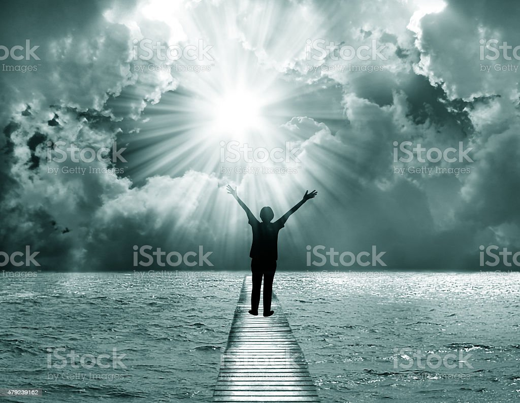Praise The Lord stock photo