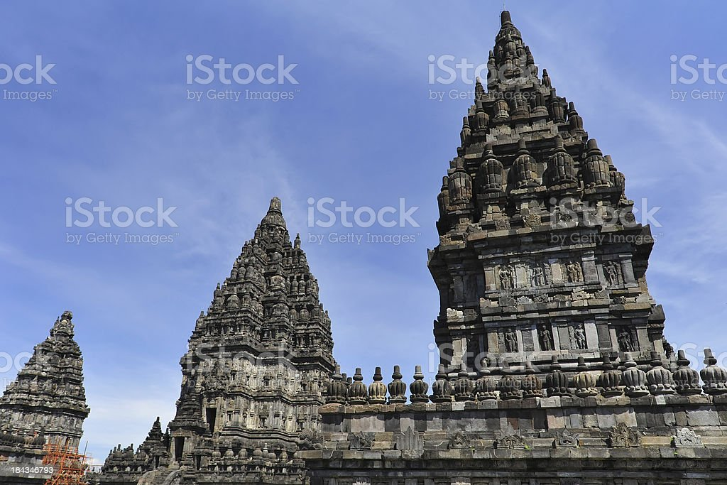Prambanan Ruins stock photo