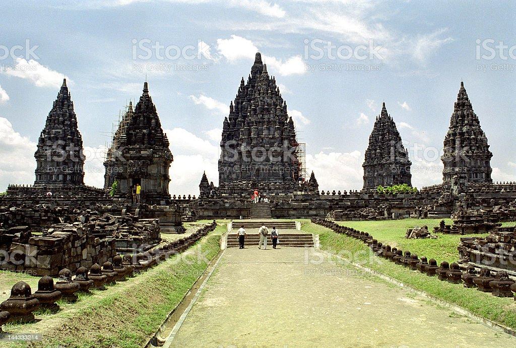 Prambanan temple complex. Java, Indonesia. royalty-free stock photo