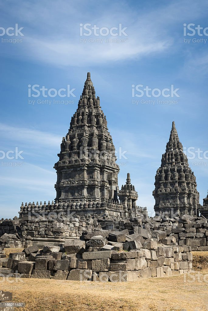 Prambanan temple, Java, Indonesia stock photo