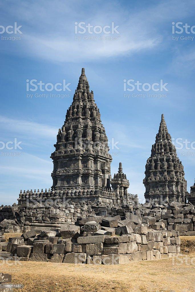 Prambanan temple, Java, Indonesia stock photo