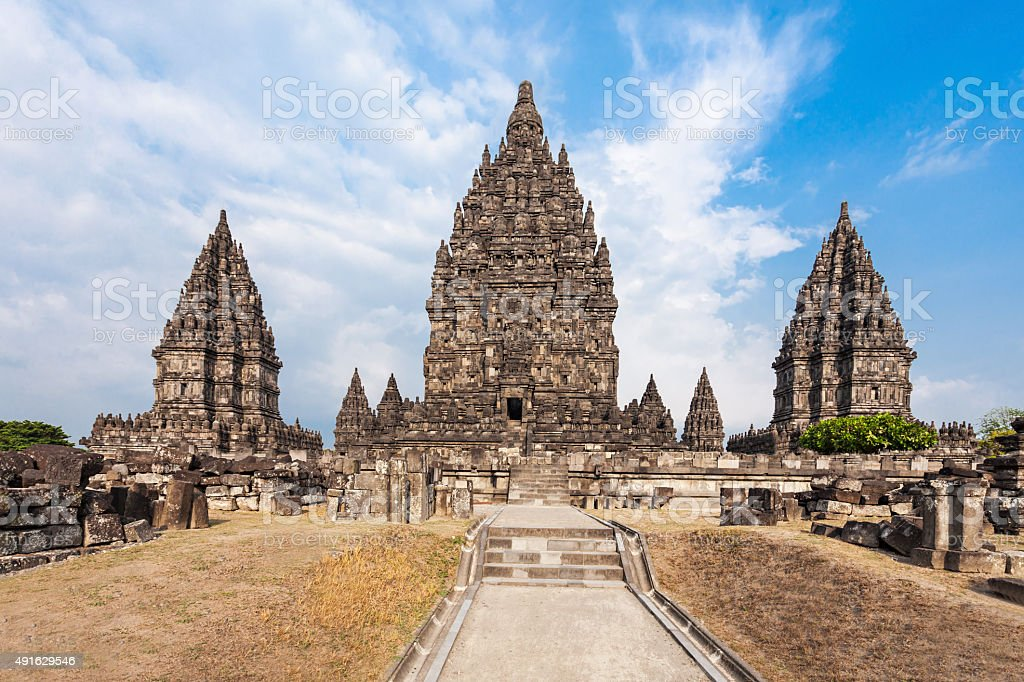 Prambanan Temple stock photo