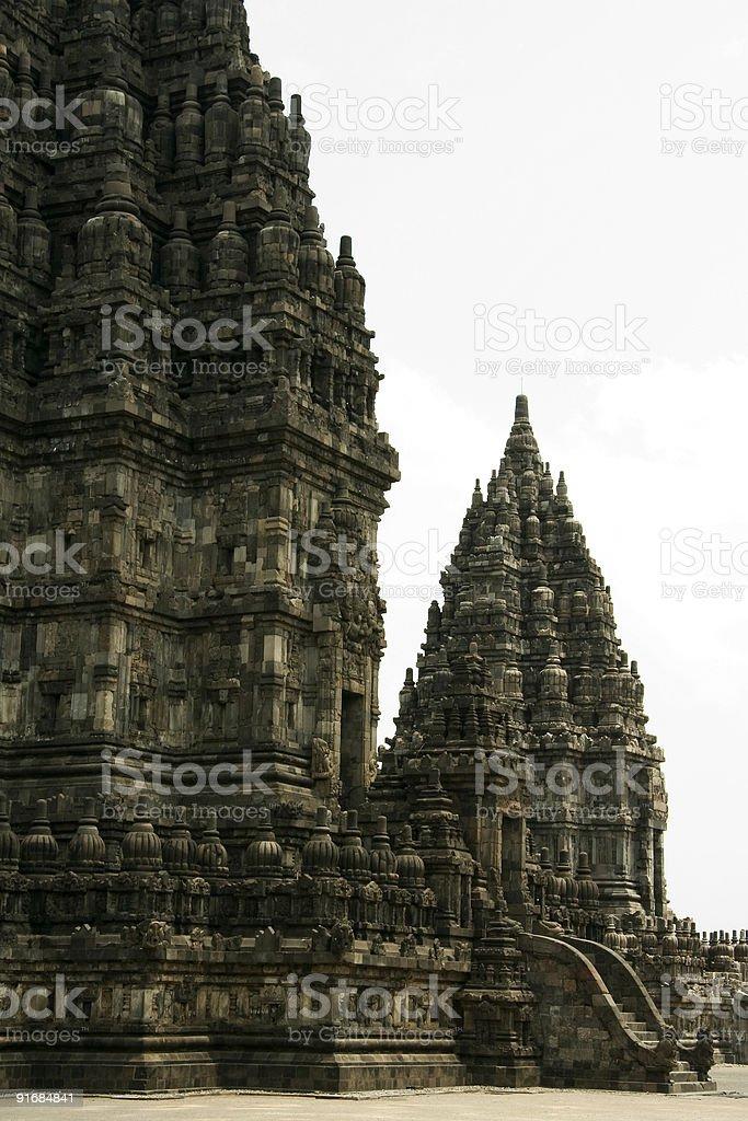 prambanan temple yogyakarta royalty-free stock photo