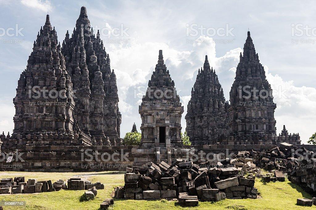 Prambanan World Heritage Site stock photo