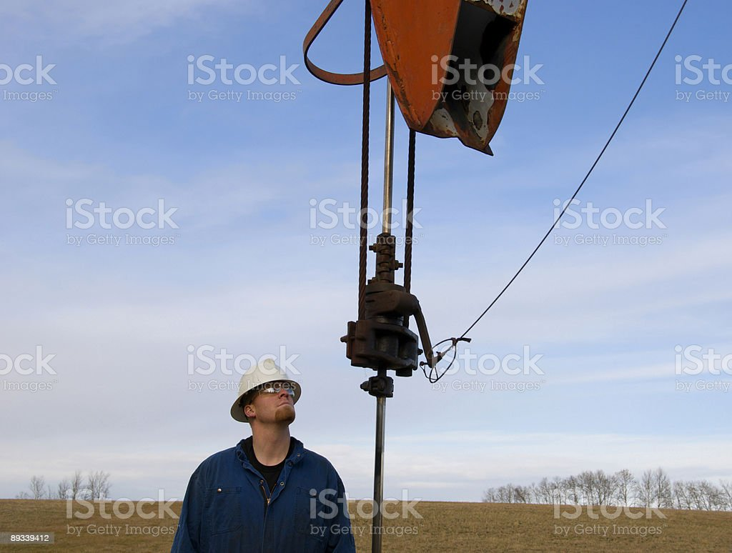 Prarie Pumpjack royalty-free stock photo