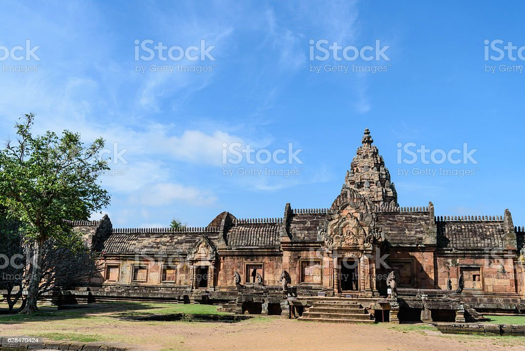 Prasat Hin Phanom Rung Historical Park stock photo
