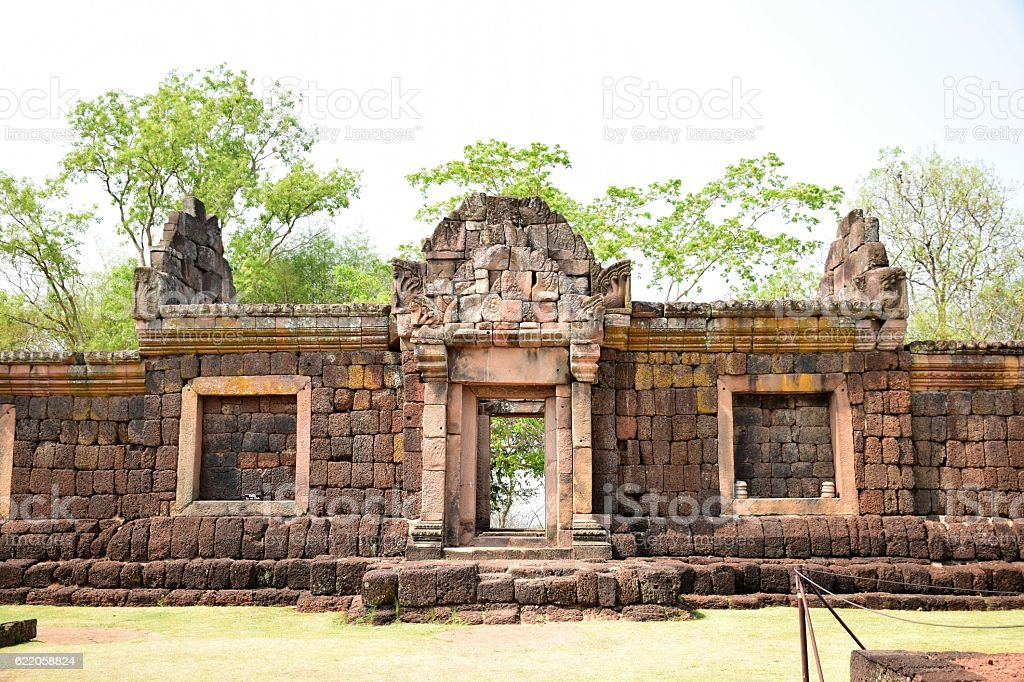 Prasat Hin Phanom Rung Thailand stock photo