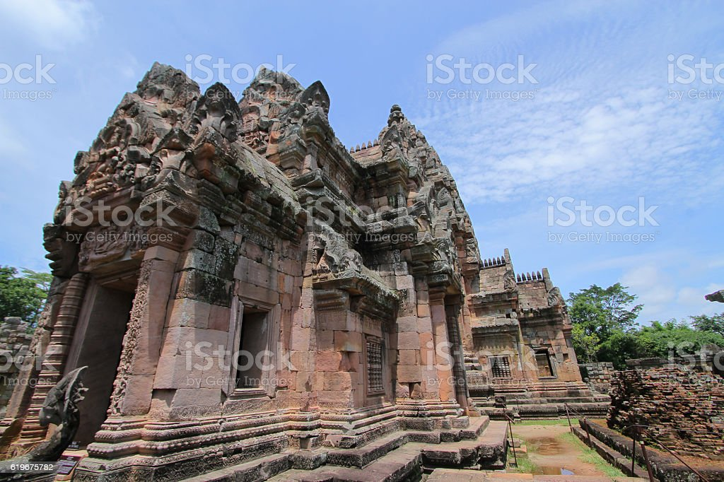 Prasat Hin Phanom Rung,Phanom Rung stock photo