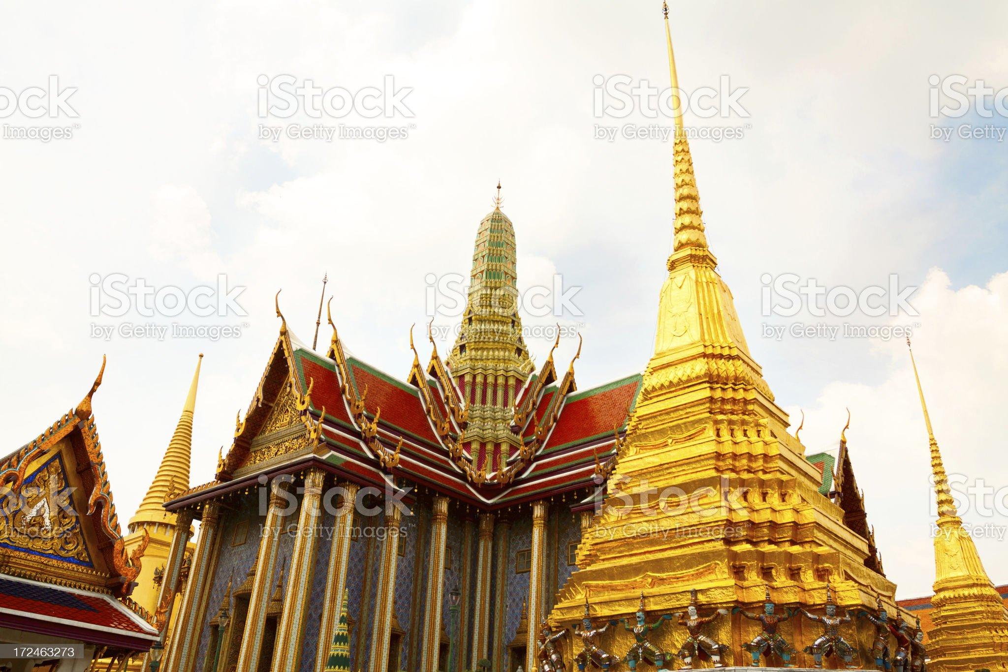 Prasat Phra Dhepbidorn royalty-free stock photo