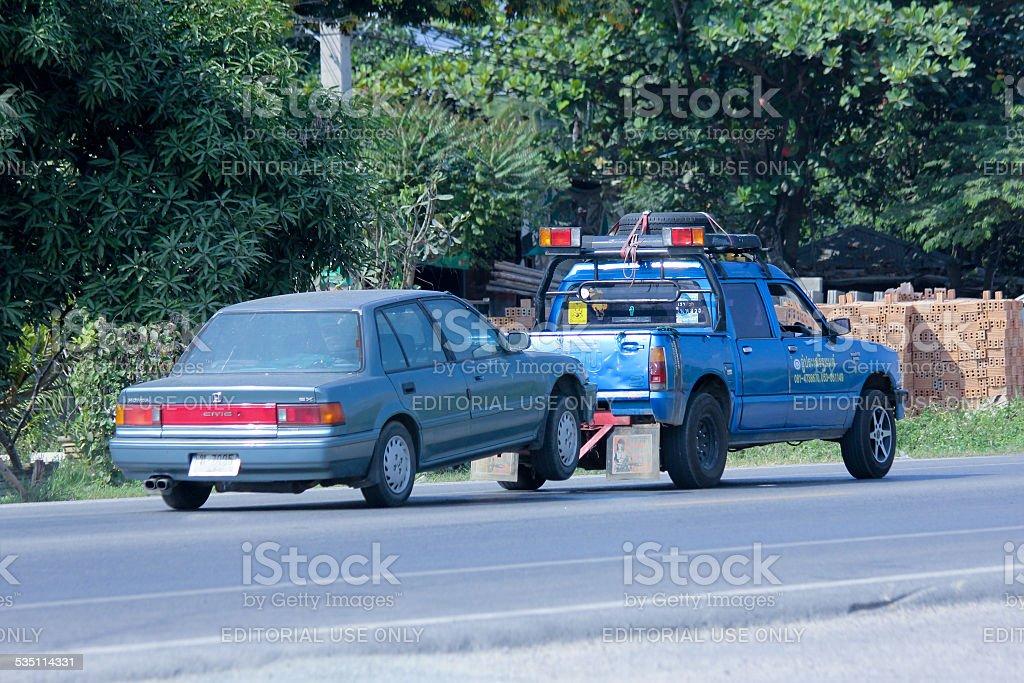 Prasert Yorn Tow truck stock photo