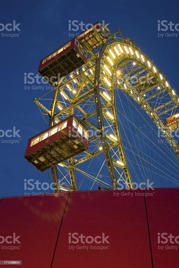 Prater ferris wheel royalty-free stock photo