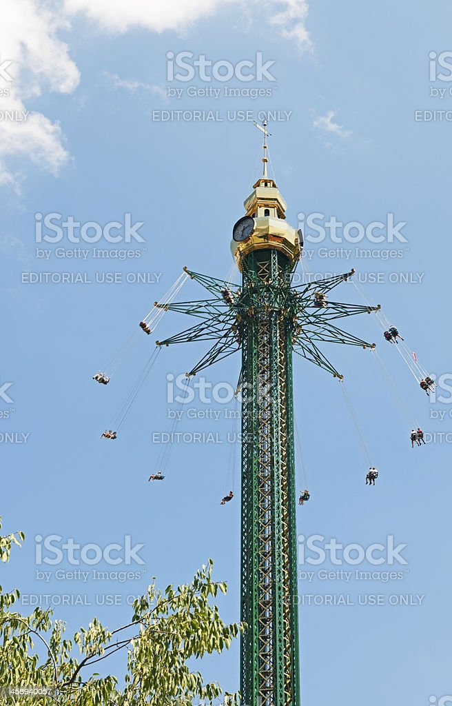 Prater Tower royalty-free stock photo