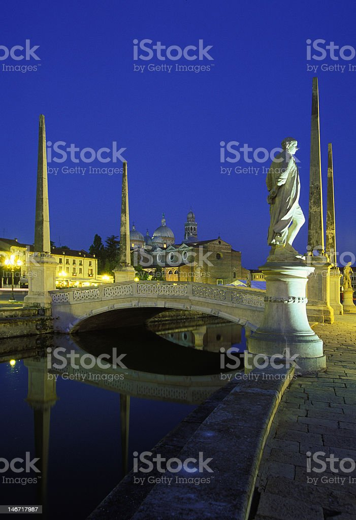 Prato della Valle royalty-free stock photo
