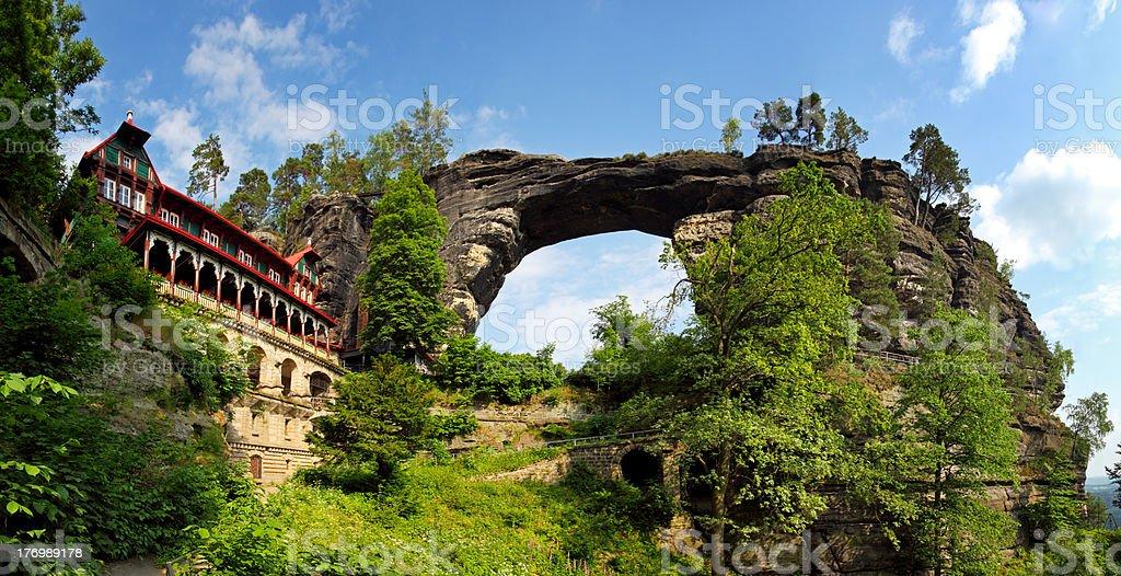Pravcicka gate - Czech Republic stock photo