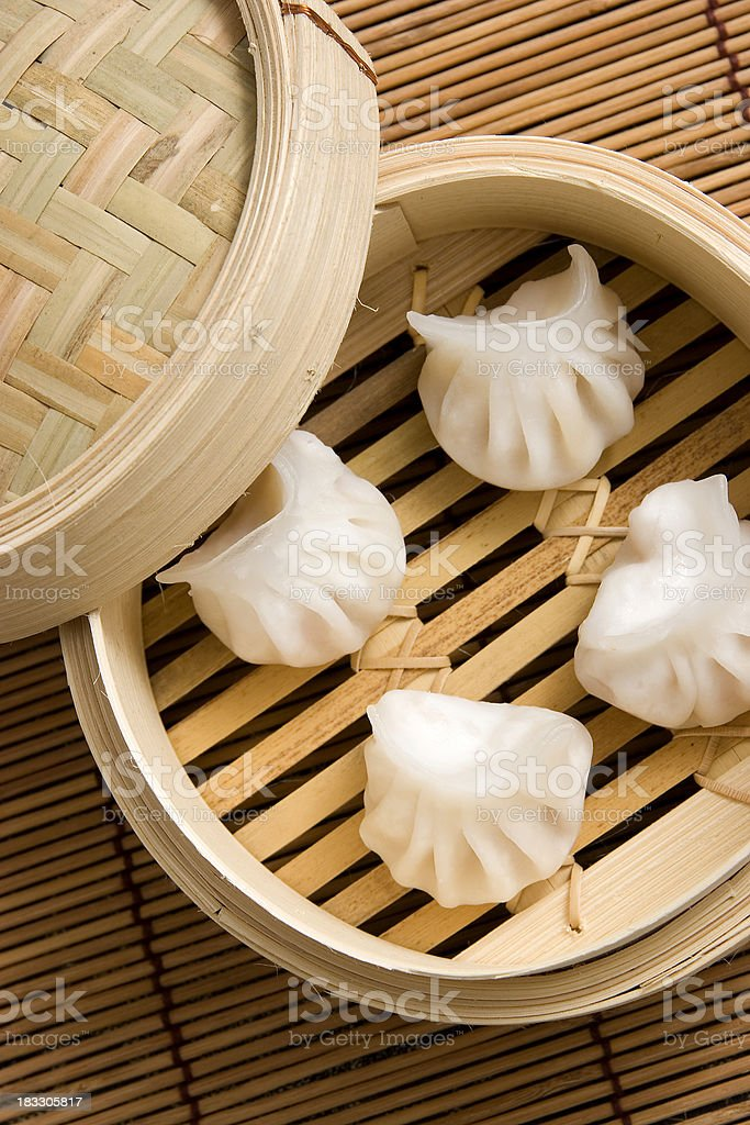 Prawn Dumplings royalty-free stock photo