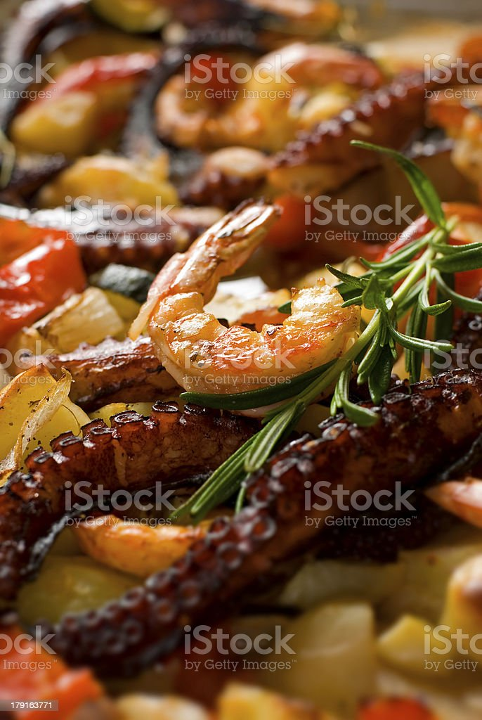 prawn royalty-free stock photo