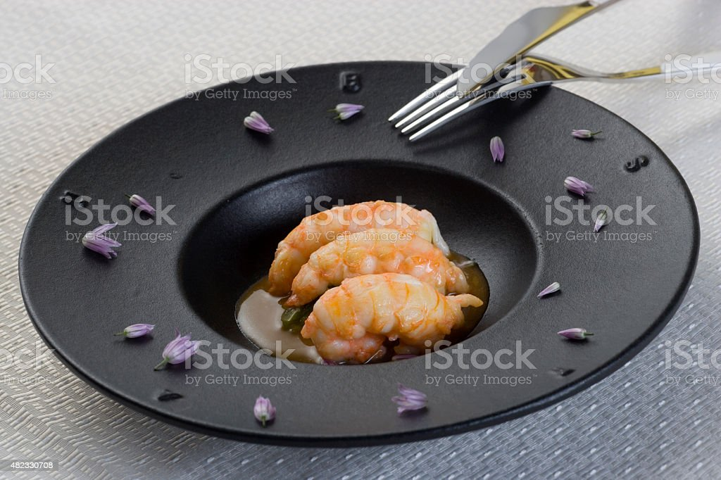 Gambas stock photo