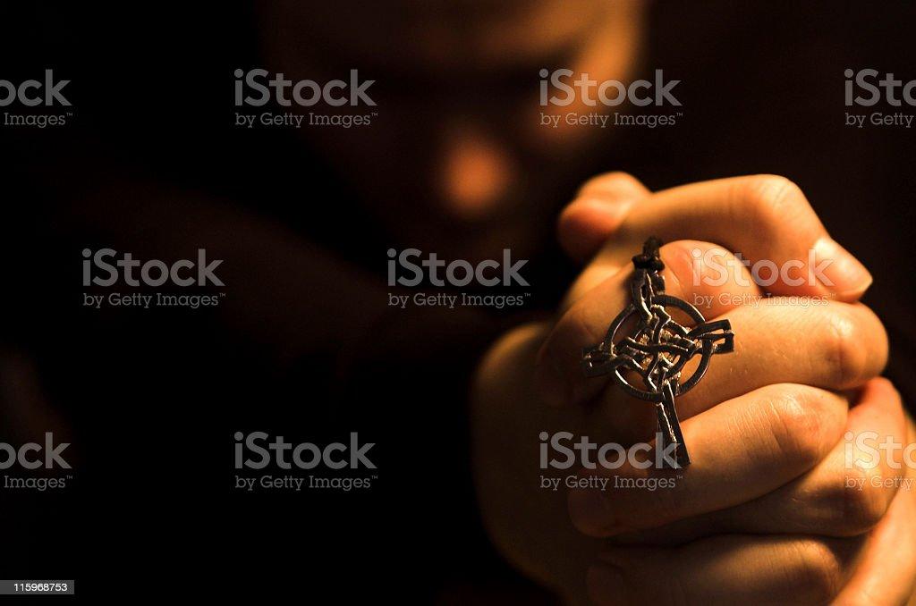 pray 8 royalty-free stock photo
